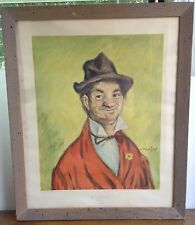 """The Gay Philospher Why Worry Henry Major NY Graphic Society 27.25 x 22.75"""" Frame"""