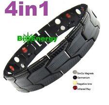 Magnétique Power Energy Santé Bracelet Bio Brassard 4in1 arthrite Titane Pur