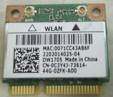 Genuine DW1705 Inspiron 15 3537 3521 3541 WiFi+Bluetooth Mini PCI-E Card C3Y4J