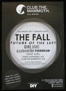 The Fall A3 gig poster