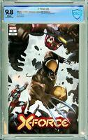 X-Force #2 Unknown / Comics Elite Exclusive - CBCS 9.8!