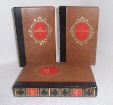 Les quarante-cinq. Complet en 3 volumes.Alexandre DUMAS. L'Erable TB1