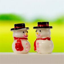 2x 1:12 Snowman Button+Green Gloves Christmas Dollhouse Home Miniature Decor JB