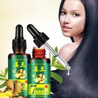 30ml Ginger Germinal Oil Hair Growth Essential Oil Hair Loss Treatment Unisex