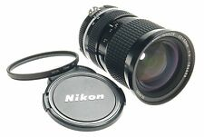 ZOOM-NIKKOR 25-50mm 1:4 NIKON MINT BLACK SLR CAMERA LENS CAPS FILTER SPOTLESS