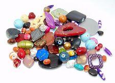 100g Mixed Colour / Shape Design Acrylic Bead Mix Jewellery Beads Craft  N151