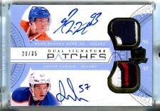 Ryan Hopkins/Anton Lander 2011-12 The Cup Dual Signature 3-Color Patches#20/35