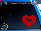 Akita in HEART -Vinyl Decal Sticker -Color Choice -HIGH QUALITY