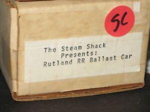 HO The Steam Shack: Resin, Rutland Ballast car kit. w/decals C-10 sc