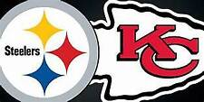 2 LOWER LEVEL Kansas City Chiefs vs Pittsburgh Steelers  12/26/21
