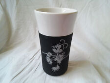 Disney Mickey Mouse Tall White Mug with Rubber Cover