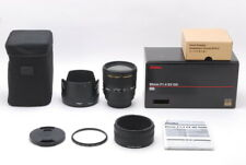 """Top Mint"" Sigma EX 85mm F/1.4 DG HSM AF Lens for Sony/Minolta A From Japan D807"