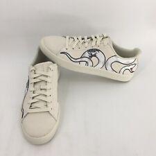 premium selection 60529 f4af5 Puma Clyde Mens Beige Designer Snake Embroidery Sneaker Shoes (368111-01)  Sz 9
