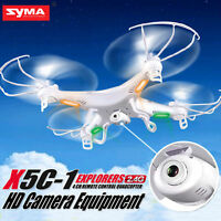 Syma X5C-1 Explorers RC Quadcopter Drone with HD Camera 2.4G 4CH 6-Axis Gyro RTF