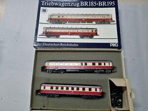PIKO H0 Triebwagenzug BR 185 und BR 195 der DR in top Zustand OVP