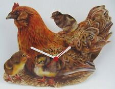 Mother Hen and Chicks Clock - MB7