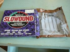 D'Addario SLOWOUND, 1/2 speed,SW300 Electric Bass Guitar Strings. New open pack