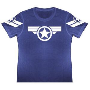 NUOVO ragazzo Marvel Avengers T-shirt Emblemi//loghi Tie Dye Effetto età 4-11 anni
