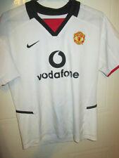 Manchester United 2002-2003 Away Football Shirt Size 140-152cm kids /34971