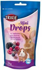 MIXED BERRY DROPS Rabbit Guinea Pig Treats  75g Mini Drop