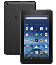 Amazon Kindle Fire 7 (5th Generation) 8GB, Wi-Fi, 7in - Black, Hardly Used