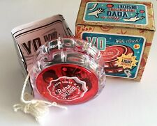 Retro style light up return top clutch action yoyo + spare string+ instructions.