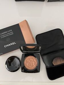 Chanel Lumiere D'Ete Illuminating Powder w/ Brush and Pouch 0.28oz New With Box