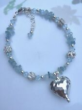 Aquamarine Handmade Beaded Fine Bracelets
