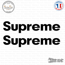 2 Stickers Supreme JDM Decal Aufkleber Pegatinas D-507 Couleurs au choix