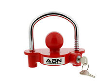 "ABN Universal Trailer Hitch Adjustable Lock for 1-7/8"" to 2-7/8"" Couplers"