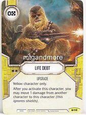 Star Wars Destiny - 1x #118 Life Debt-Spirit of rébellion