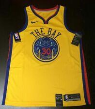 Nike Stephen Curry #30 Golden State Warriors City Edition Swingman Jersey 2xl