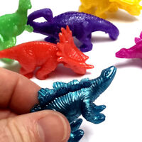 6 x STRETCH DINOSAURS BOYS FIDGET SQUISH TOY GIFT FUN BIRTHDAY PARTY BAG FILLERS