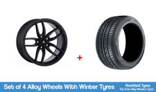 Aluminium A4 Winter Wheels with Tyres
