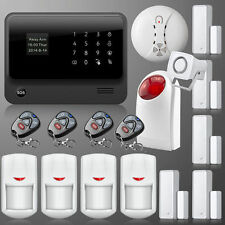 G90B WiFi GSM GPRS SMS Wireless Home House Fire Security Inturder Alarm System