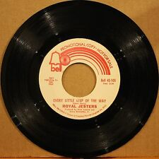 ROYAL JESTERS She's Coming Home EVERY LITTLE STEP Northern Soul 45 on BELL 105