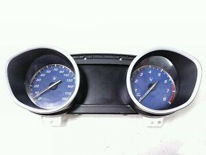 2015 Maserati Ghibli Q4 Dash Panel Instrument Panel Speedometer Gauge 670030640