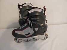 Youth Roller Blades Inline Skates Size 8 Grey Black Red Spark Forward