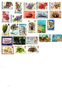 commonwealth stamps, bermuda