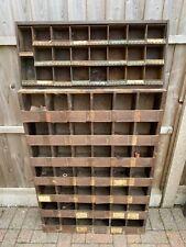 More details for vintage industrial pigeon hole storage units
