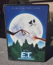 "E.T. The Extra Terrestrial LIMITED EDITION 4"" Mini VHS Movie CASE TOY Promo"
