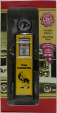Gas Pump 1950's IOWA HAWKEYES 6 1/2 inches tall CROWN PREMIUMS