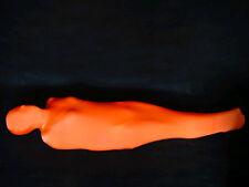 Orange Mummy Style Plain Lycra Zentai Spandex Catsuit Costume S-XXL