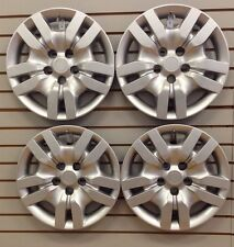 """NEW Bolt-On Hubcap Wheelcovers that FIT 2007-2012 16"""" Nissan ALTIMA Set"""