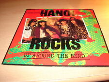 HANOI ROCKS - UP AROUNDTHE BEND  !!! RARE MAXI 45 TOURS / EURO 12""