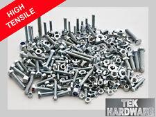 Grade 8.8 High Tensile Steel Bolts (Setscrews) nuts, washers. M5, M6, M8. 400 Pk