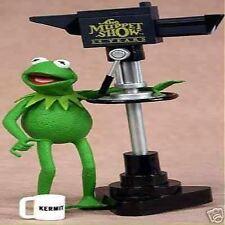 FIRE SALE Partly Damage The Muppet Show KERMIT & Miss Piggy Figure + TV CAMERA