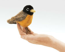 Robin Finger Puppet # 2742 ~ Free Ship in Usa ~ Folkmanis Puppets