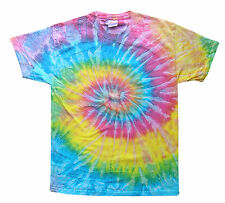 Tie Dye T Shirts New Multi Colors Spiral Variation Size Youth XS to Adult 3XL