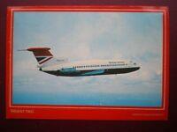 POSTCARD AIR BRITISH AIRWAYS TRIDENT TWO  AEROPLANE